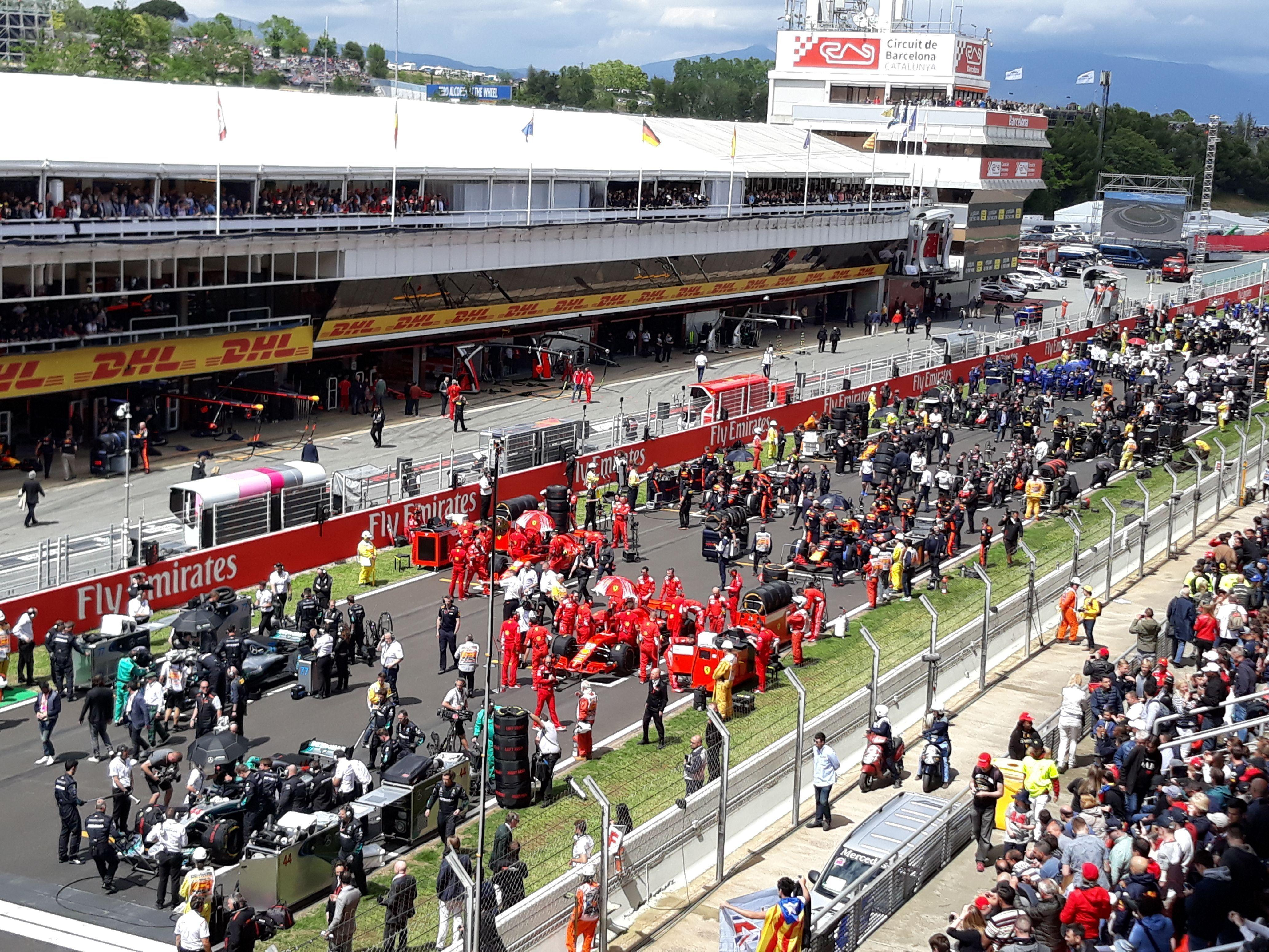 Circuito Montmelo : El govern salva la f1 en montmeló con 42 millones