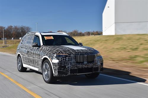 BMW X7 pruebas