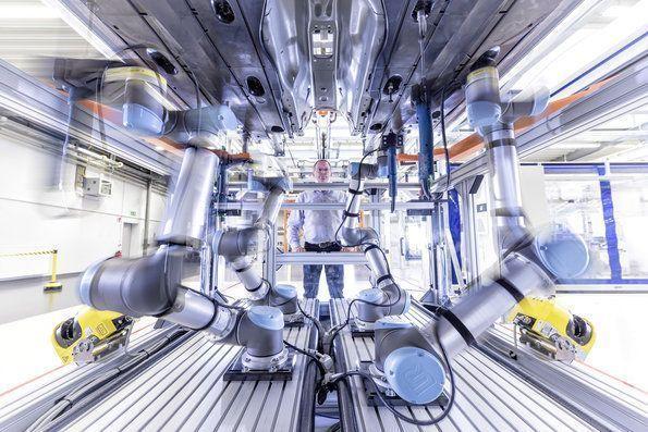 Audi industria 4.0 producción smart factory 5G