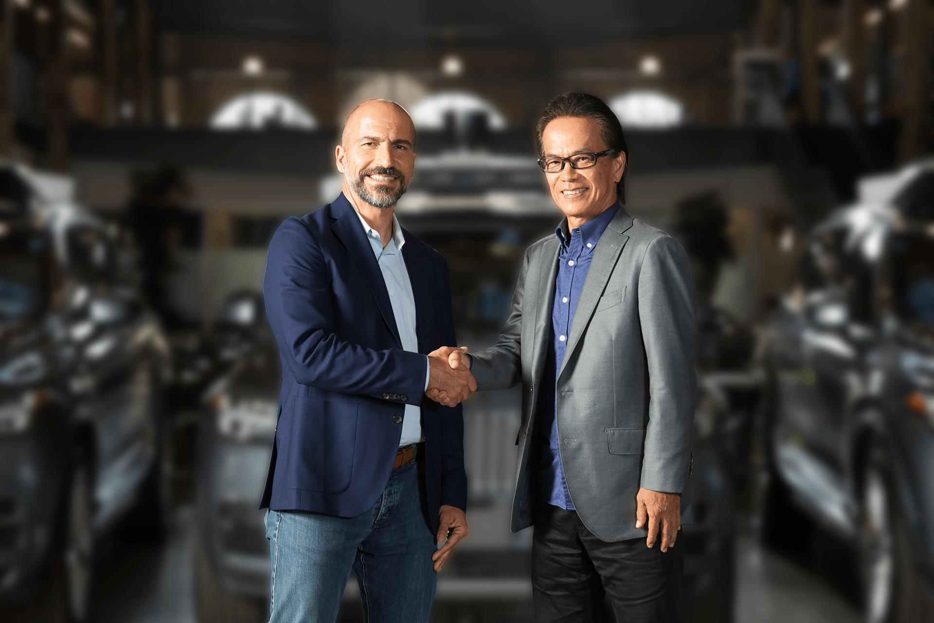 acuerdo de Uber y Toyota