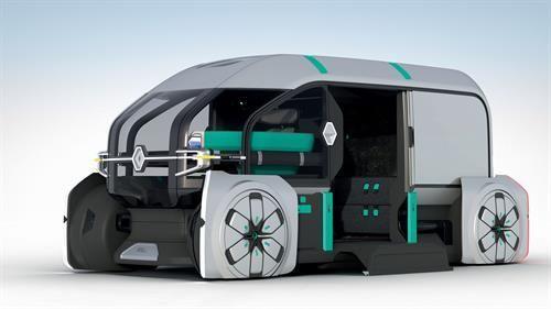 vehículos comerciales camiones furgonetas eléctricos autónomos