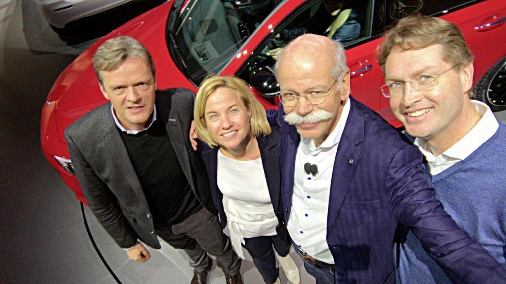 Ola Källenius Zetsche Daimler Mercedes