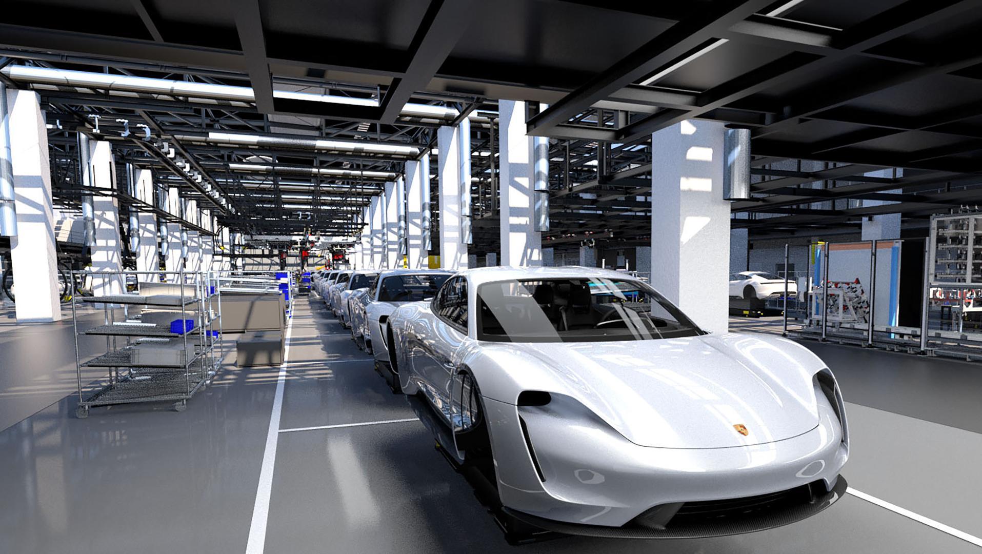 Porsche Taycan eléctrico genera 1.200 empleos