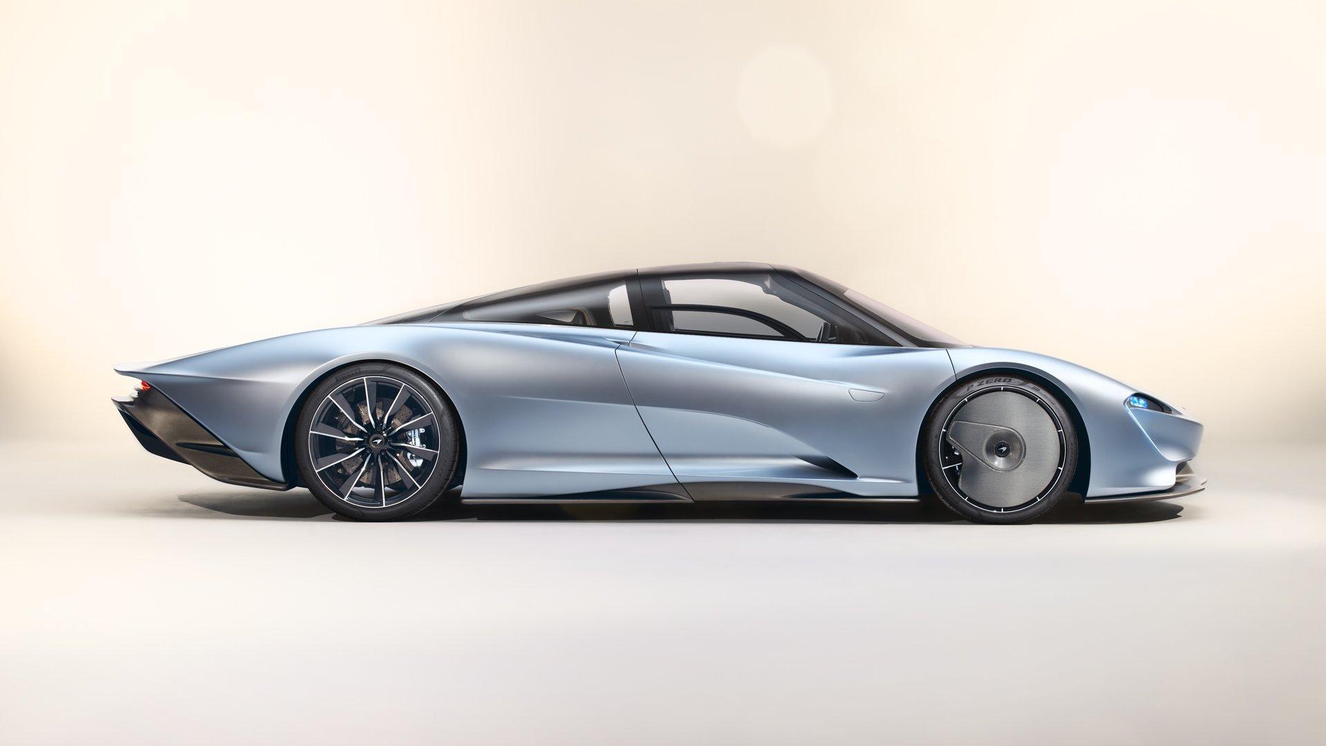 McLaren Speedtail, el superdeportivo artístico