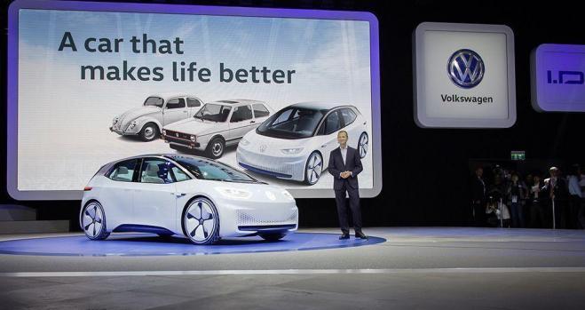 Volkswagen invertirá 44.000 millones en coches eléctricos y autónomos