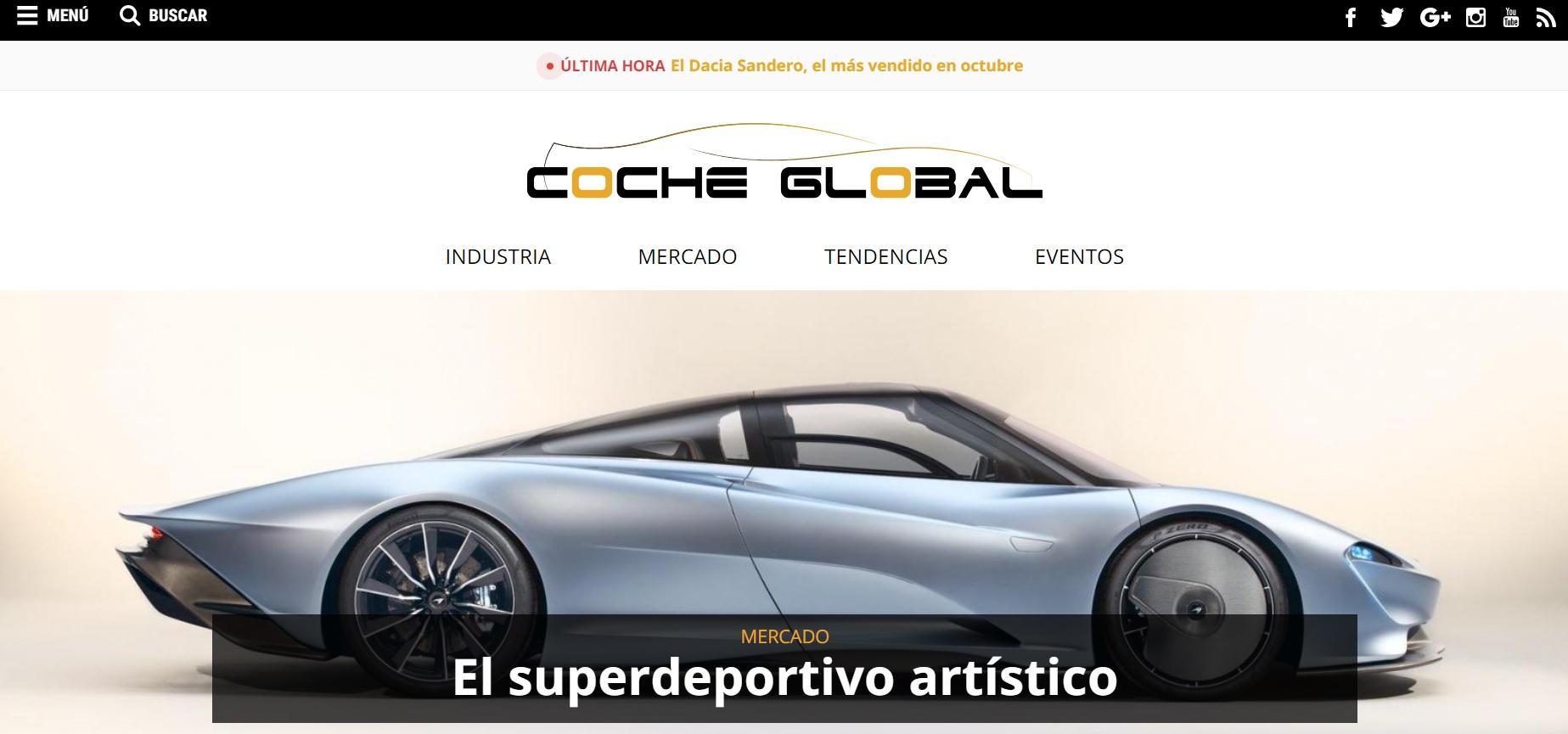 Movilidad y Automóvil Coche Global - Magazine cover