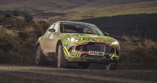 Aston Martin DBX. James Bond ya tiene SUV