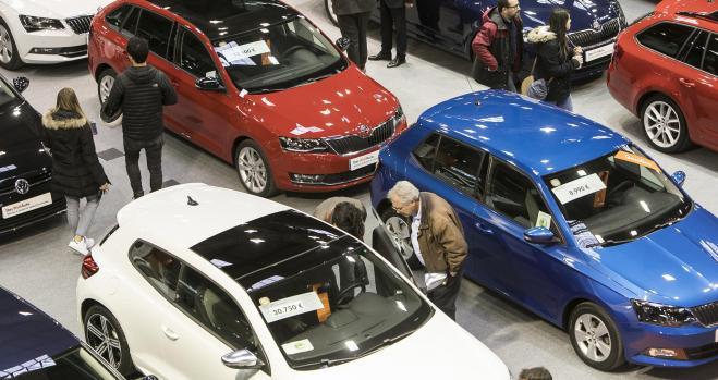 Las ventas de coches de ocasión diésel se estancan