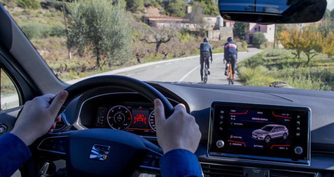 Un SUV que protege a los ciclistas