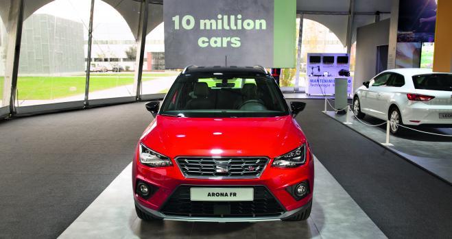 Seat supera los 10 millones de coches fabricados en Martorell