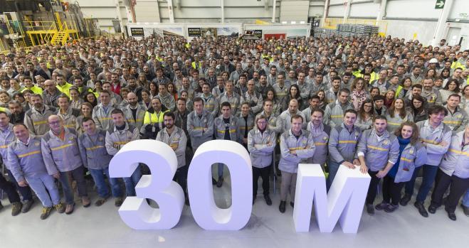 Renault alcanza los 30 millones de motores producidos en Valladolid