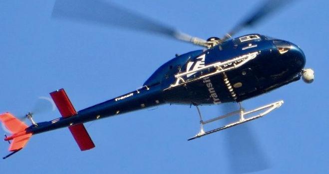 El helicóptero con un radar que lo ve todo empieza a multar