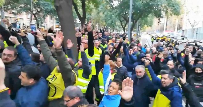 El taxi vuelve a la huelga en Barcelona y Madrid