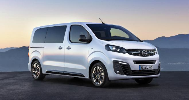 Nuevo Opel Zafira Life, de monovolumen a furgo familiar