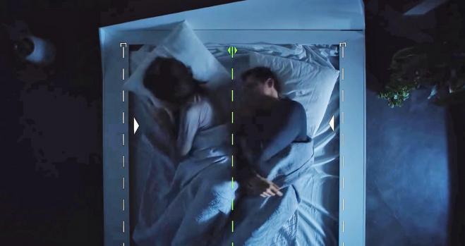 La primera cama con detector de cambio de carril
