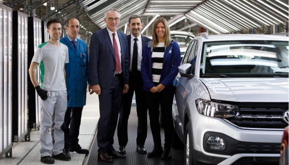 Volkswagen se plantea producir un tercer modelo en Navarra