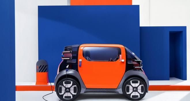 Ami One Concept, el coche eléctrico sin carnet de Citroën
