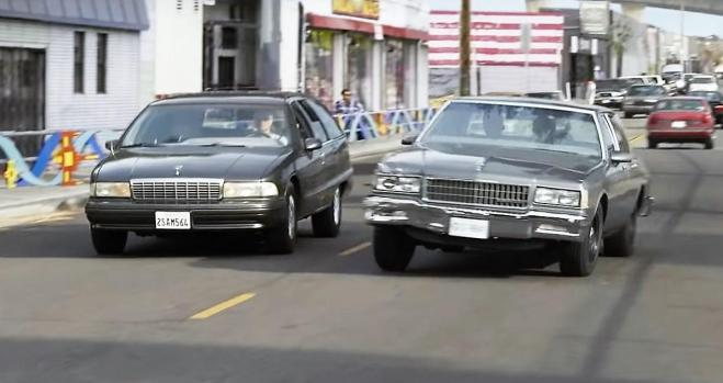 Chevrolet Caprice en la película Capitana Marvel (Captain Marvel) (2)