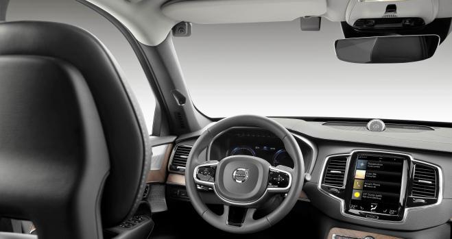 Cámaras espía dentro del coche. La última apuesta de Volvo