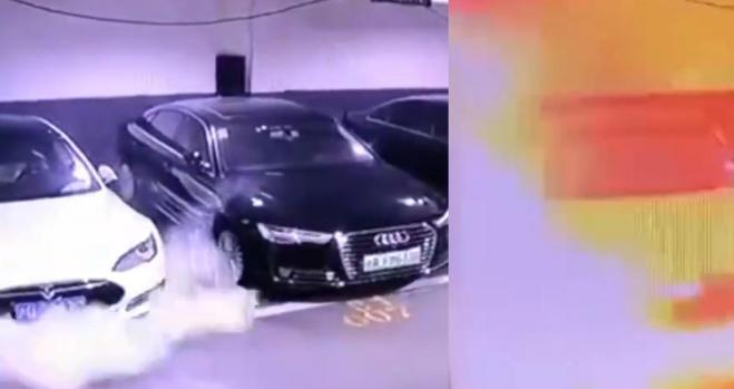 Tesla se hunde en bolsa por el vídeo de la explosión de un Model S